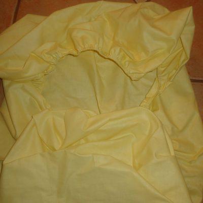 2. Lepedő 100% pamut körben gumis széllel, Pl. 120x60 normál matracra fehér szinben 1600ft szines 1700ft (+minta)