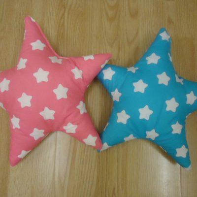 1. Csillagpárna 1850ft/db Mérete: kb. 40 cm