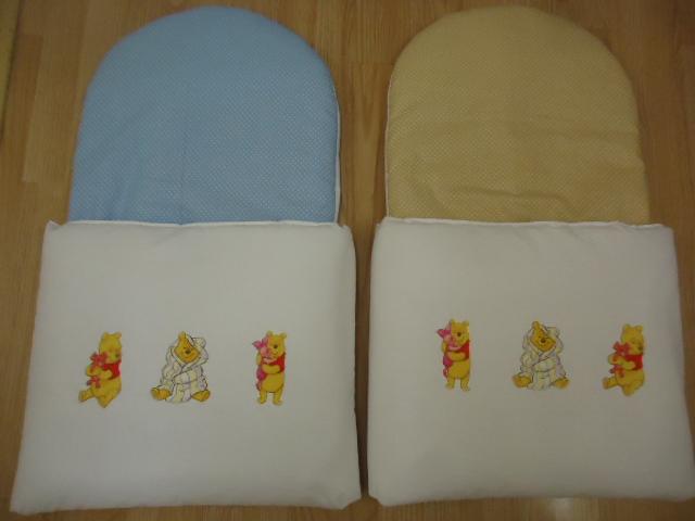 13. Újszülött kortól 74-es méretig használható, 4 cm puha töltettel , két oldalán végig tépőzárral rögzithető a zsák aljához igy nem érintkezik a babával Rendkivül praktikus a téli időszakban , babakocsiba akár lábzsákként is használható. 4000 ft-tól